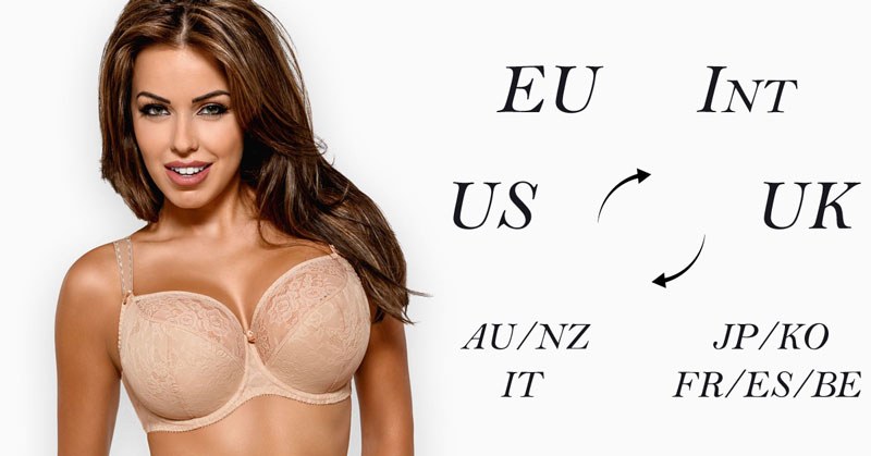 Bra Size Charts and Conversions - Accurate Guide with Images